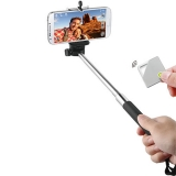 MUVIT MUHTG0022 - Selfie stick cu telecomanda - negru