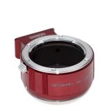 Metabones II - Inel adaptor Nikon F la Sony NEX (E-mount) - Rosu