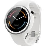 Motorola Moto 360 Sport - Smartwatch 42mm, 2nd Gen, Silicon, Alb