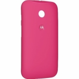 Motorola - husa capac spate Shells Raspberry pentru Moto E