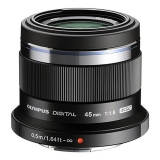 Olympus M.Zuiko Digital 45mm f/1.8 MSC negru - montura  Micro 4/3