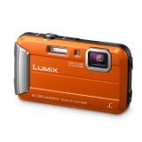 Panasonic Lumix DMC-FT30 - aparat foto subacvatic - portocaliu