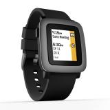 Pebble Time - ceas inteligent negru - 501-00020