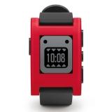 Pebble - ceas inteligent pentru iPhone si Android - rosu