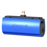 PhoneSuit Flex Pocket Charger 2600mAh iPhone 6/6P/5S/5C/5 albastru