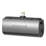 PhoneSuit Flex XT Pocket Charger 2600mAh iPhone 6/6P/5S/5C/5 negru