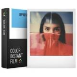 Impossible - Film Color pentru 600, White Frame