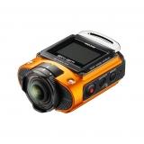 Ricoh WG-M2 - camera de actiune 4K portocalie