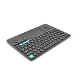 Rii K16 - Tastatura mini multimedia wireless, carcasa din aluminiu