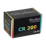 Rollei CHROME CR 200 135-36 - film diapozitiv color ingust ISO 200