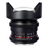 Samyang 14mm T3.1 ED AS IF UMC II - Cine Lens Canon