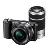 Sony Alpha A5000 KIT(ILCE-5000L/B) + SEL16-50mm +SEL55-210