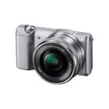 Sony Alpha A5000 argintiu (ILCE-5000L/S) + SEL16-50mm