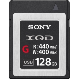 Sony XQD Seria G, 128GB, 440MB/s citire, 400MB/s scriere
