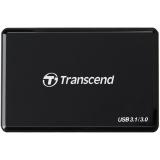 Transcend RDF9 - Cititor carduri USB 3.0, Negru