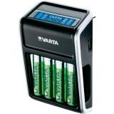 Varta - Incarcator pentru priza LCD Plug + 4 Acumulatori AA R6 2100 mAh
