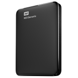 Western Digital - HDD extern Elements Portable 1TB 2.5 USB 3.0 Negru