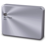 Western Digital My Passport Ultra Metal Edition - 2TB, USB 3.0, Argintiu