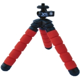 Xsories Mini Bendy - Mini-trepied flexibil, rosu