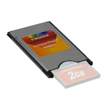 Adaptor PCMCIA pentru Compact Flash. Transcend cod(TSOMCF2PC.)