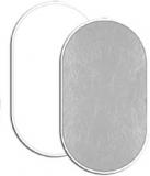 Fancier blenda 2in1, White/Silver, 102x153cm