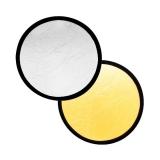 Fancier blenda 2in1, White/Wavy Gold, 80cm
