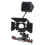 Capa Cinema Skater Z5 - Kit camera rig VDSLR + Follow focus