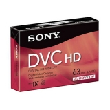 Caseta MiniDv HDV/DV Sony 63min DVM-63HD