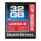 Delkin CF 32GB 500X - card de memorie UDMA 6