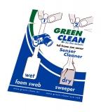 Green Clean Wet&Dry -  2 spatule format FULL FRAME (1 buc. spatula uscata + 1 buc, spatula umeda)