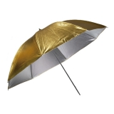 Kast KGSU-33 80cm - umbrela reversibila Silver/Gold