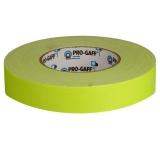 LeMark Fluo Pro-Gaff galben 24mm - banda adeziva