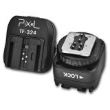 Pixel TF-324 - adaptor blit hotshoe de la Canon/Nikon la Sony